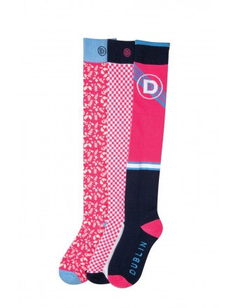 Dublin Adult Marianne Country Socks (3 pack)
