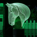 Horse Head USB Lamp