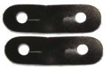 Zilco Peacock Iron Leather Straps - Pair