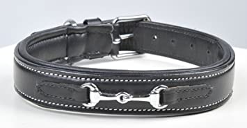 HKM Leather Dog Collar