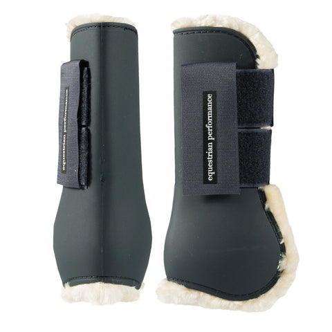 Horze Quintus Fleece Tendon Boots