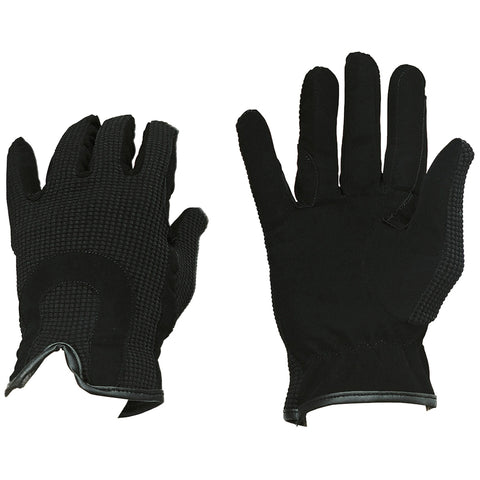 Flair Suede Trim Riding Gloves