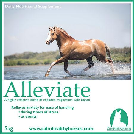 Calm Healthy Horses Alleviate