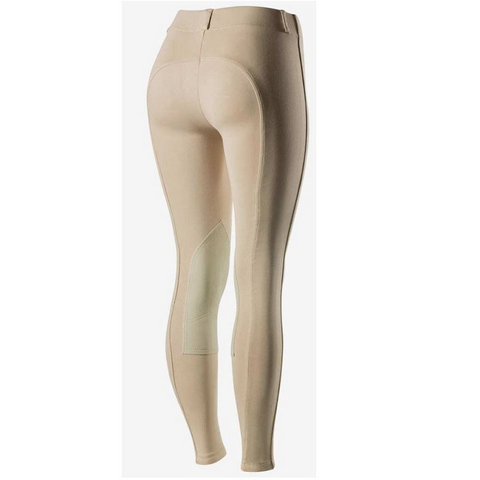 Horze Ella Pull-On Knee Patch Breeches