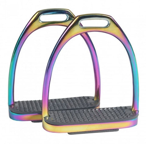 Horka Fillis Stirrup Iron Rainbow