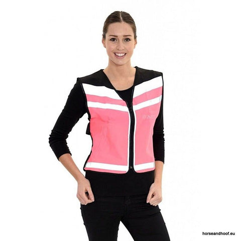 Equisafety Plain Adjustable Air Waistcoat Hi-Viz
