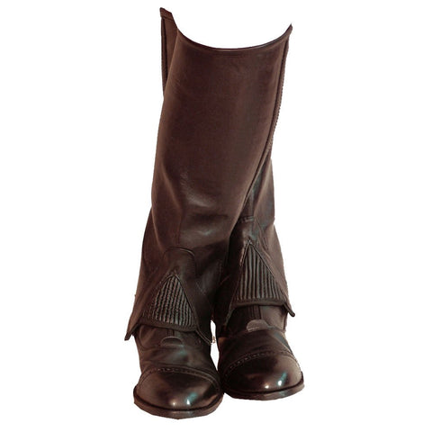 Fuller Fillies Huggy Leather Half Chaps