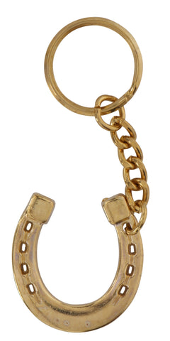 Brass Horseshoe Key Ring