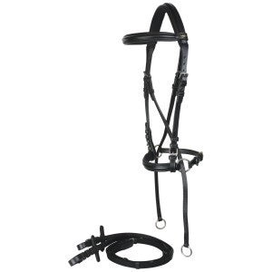 Norfolk Bitless Bridle with Reins