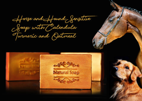 Bee Kind Horse & Dog Sensitive Soap with Calendula, Turmeric & Oatmeal