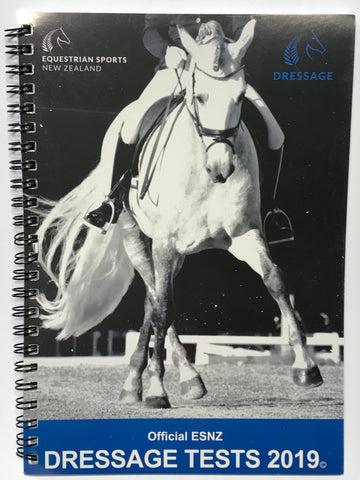 Official ESNZ Dressage Tests 2019