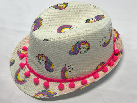 Child's Unicorn Fedora