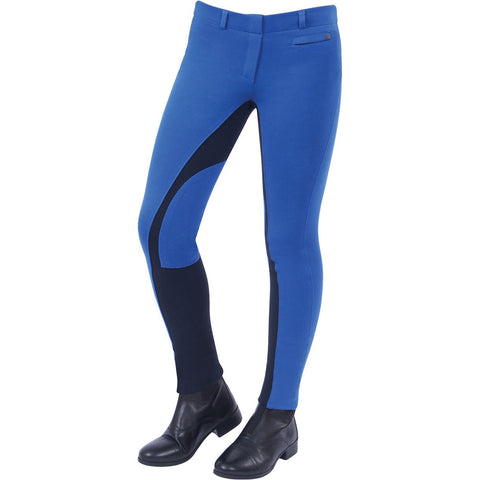Dublin Supa-Fit Childrens Pull On Euro-Seat Jodhpurs