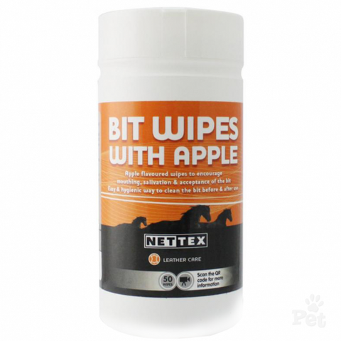 Nettex Bit Clean Wipes (50)