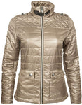 HKM Cavallino Marino Silver Stream Quilted Riding Jacket