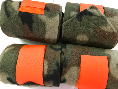 Camoflague Polar Fleece Bandages