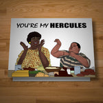 """My Hercules"" card"
