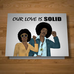 """Solid Love"" card"