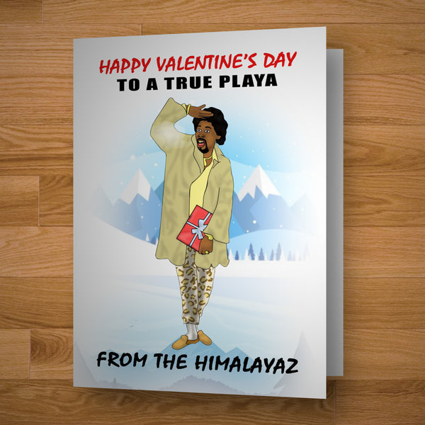 True Playa Valentine's Card
