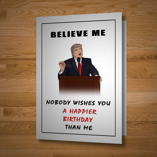 Presidential Birthday Card