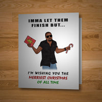 """The Greatest Christmas Card Of All Time!"""