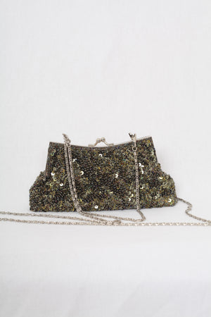 Sequined Clutch two straps