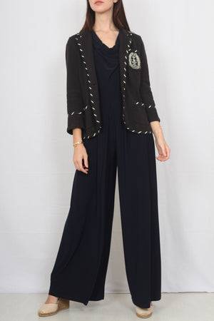 Phase Eight Navy Jumpsuit - M/L