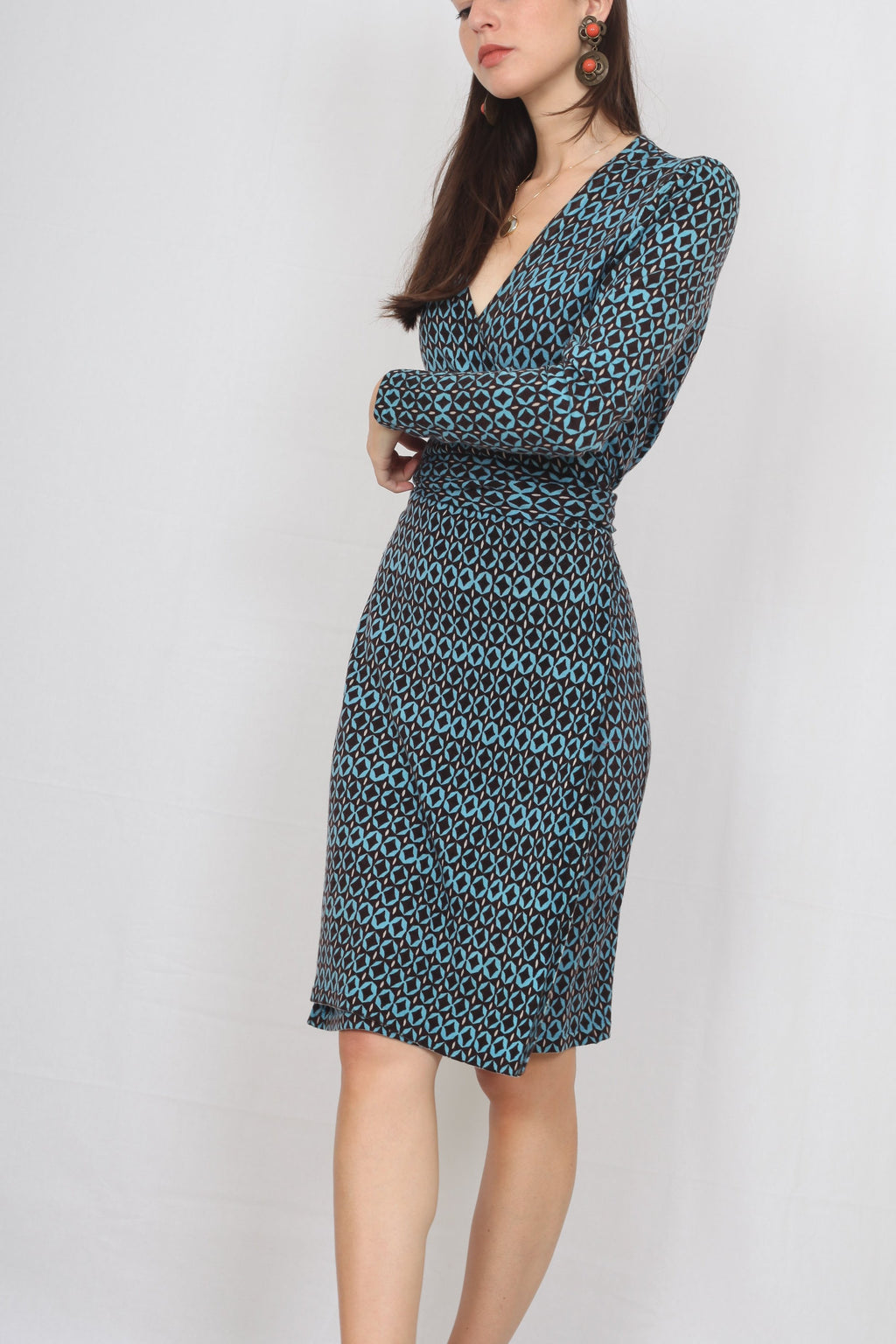 Diane von Furstenberg Wrap Dress - M