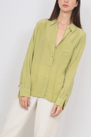 Equipment Silk Shirt - M