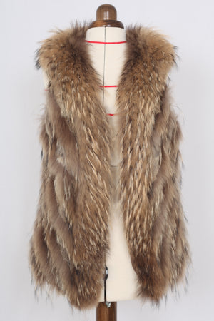 Fur Veste - One size