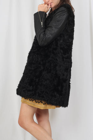 Maje fur Coat - M