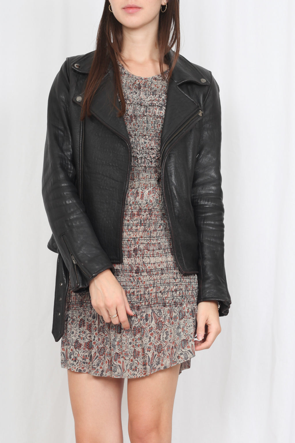 Maje leather Jacket - M