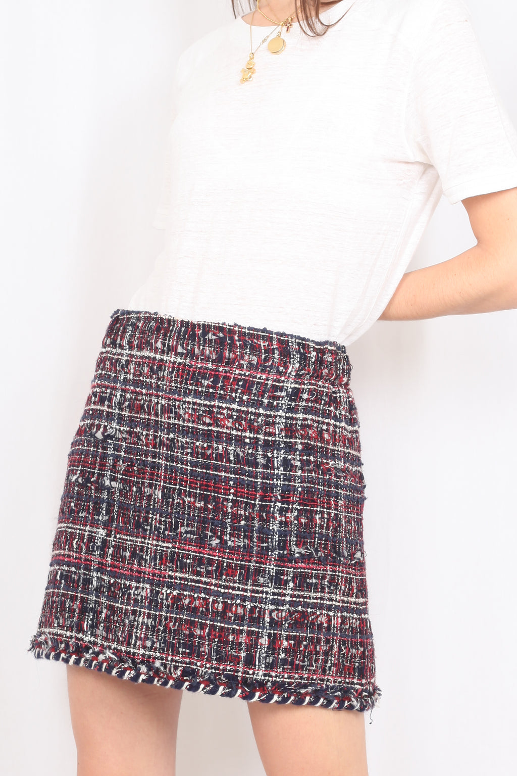 Chanel tweed skirt - L