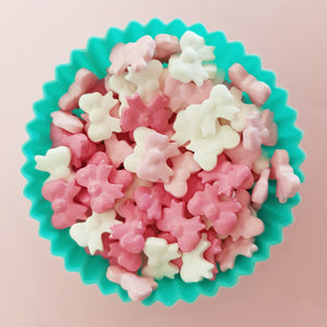Bow Shaped Candy Sprinkles