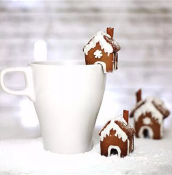 Mini Gingerbread Christmas House Cutter Set