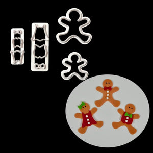 Gingerbread Boy/Girl Cutter Set | Christmas