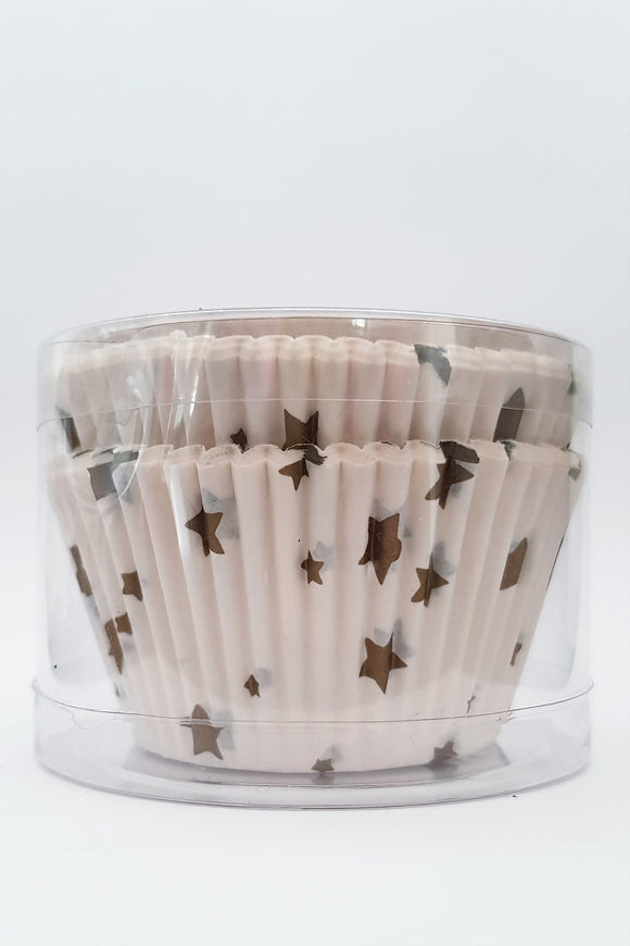 Gold Stars 48pk | Cupcake Liners