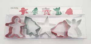 5pc Christmas Cookie Cutter Set