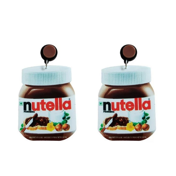 Nutella Jar Earrings