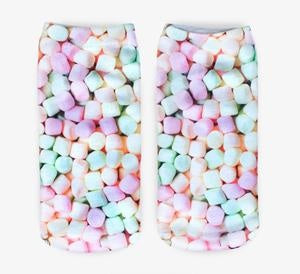 Mini Marshmallow Novelty Ankle Socks
