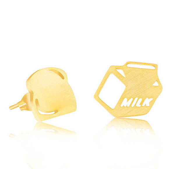 Milk + Bread Earrings