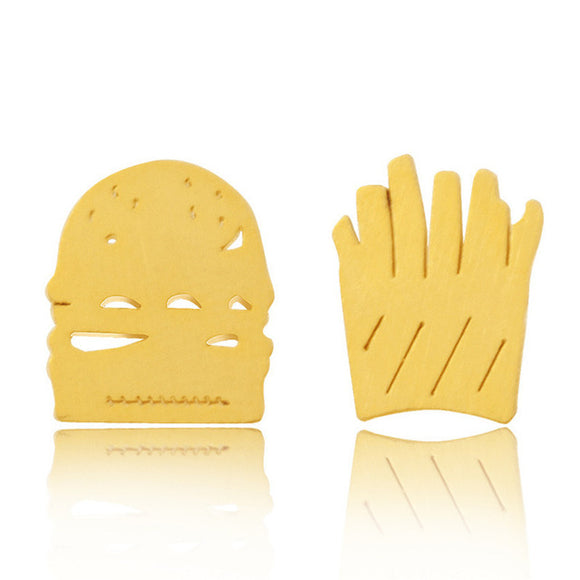 Burger + Fries Earrings
