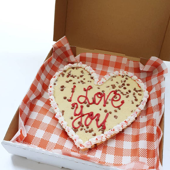 Valentine's Day Giant Personalised Cookie