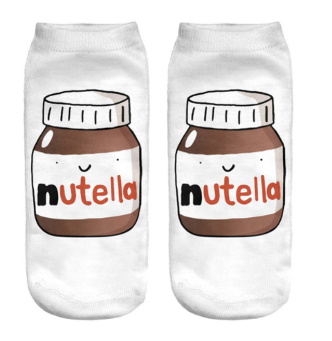 Nutella Novelty Ankle Socks