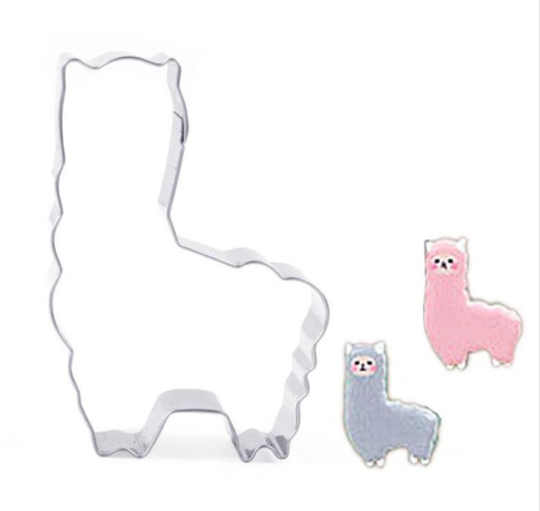 Llama/Alpaca Stainless Steel Cookie Cutter