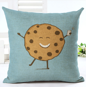 Choc Chip Cookie Cushion Cover