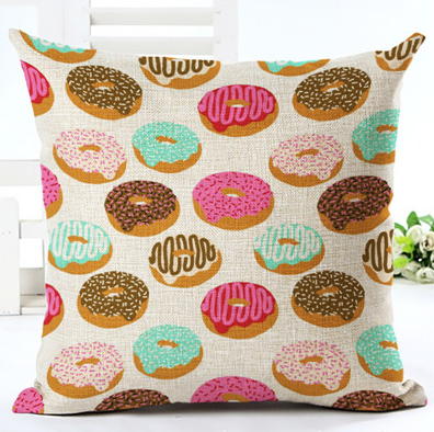 Donuts For Days Cushion Cover