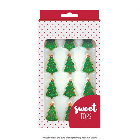 Sweet Tops Christmas Tree Cake Decorations