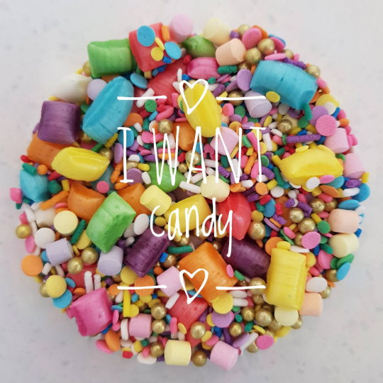I Want Candy | Sprinkle Mix