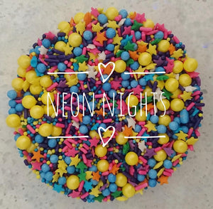 Neon Nights | Sprinkle Mix